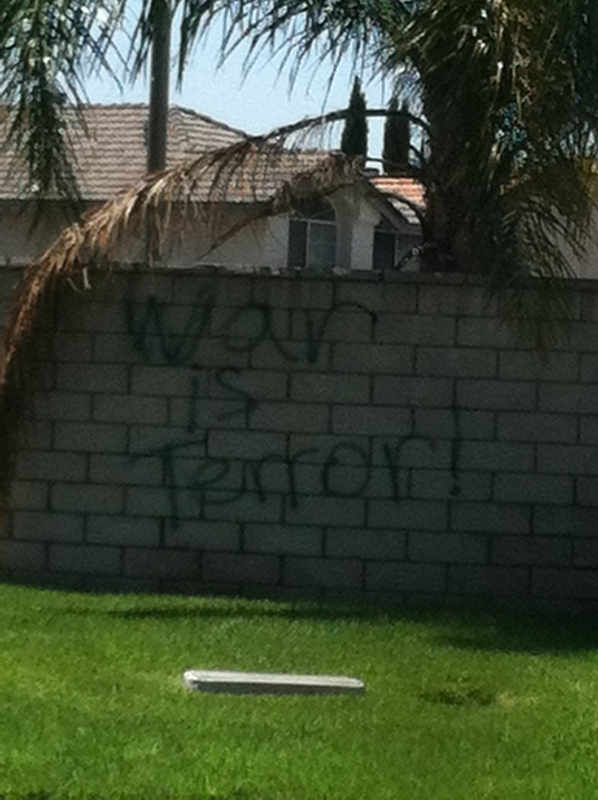 Graffiti in Fontana